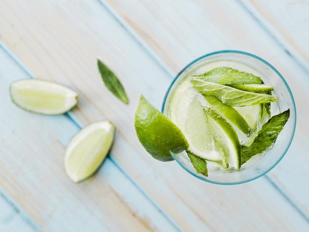 frisk gin drink