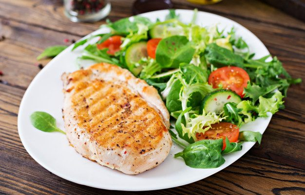 kyllinge salat