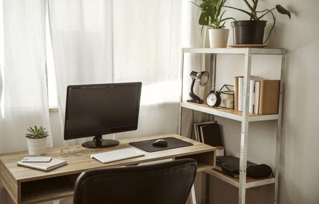 skrivebord i hjemmet